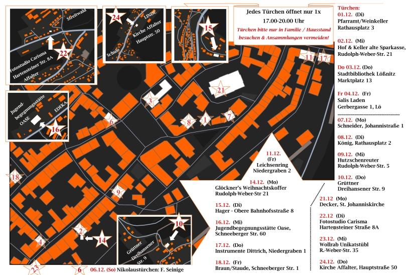 Übersichtskarte 24 Türchen A3 MAP